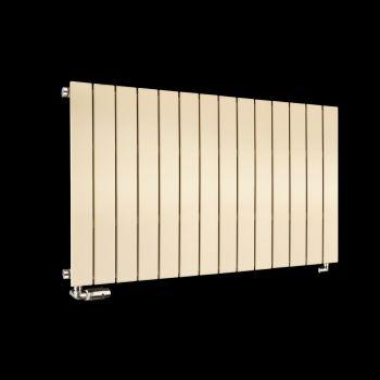Muro Light Cream Single Panel Radiator 600mm high x 1045mm wide