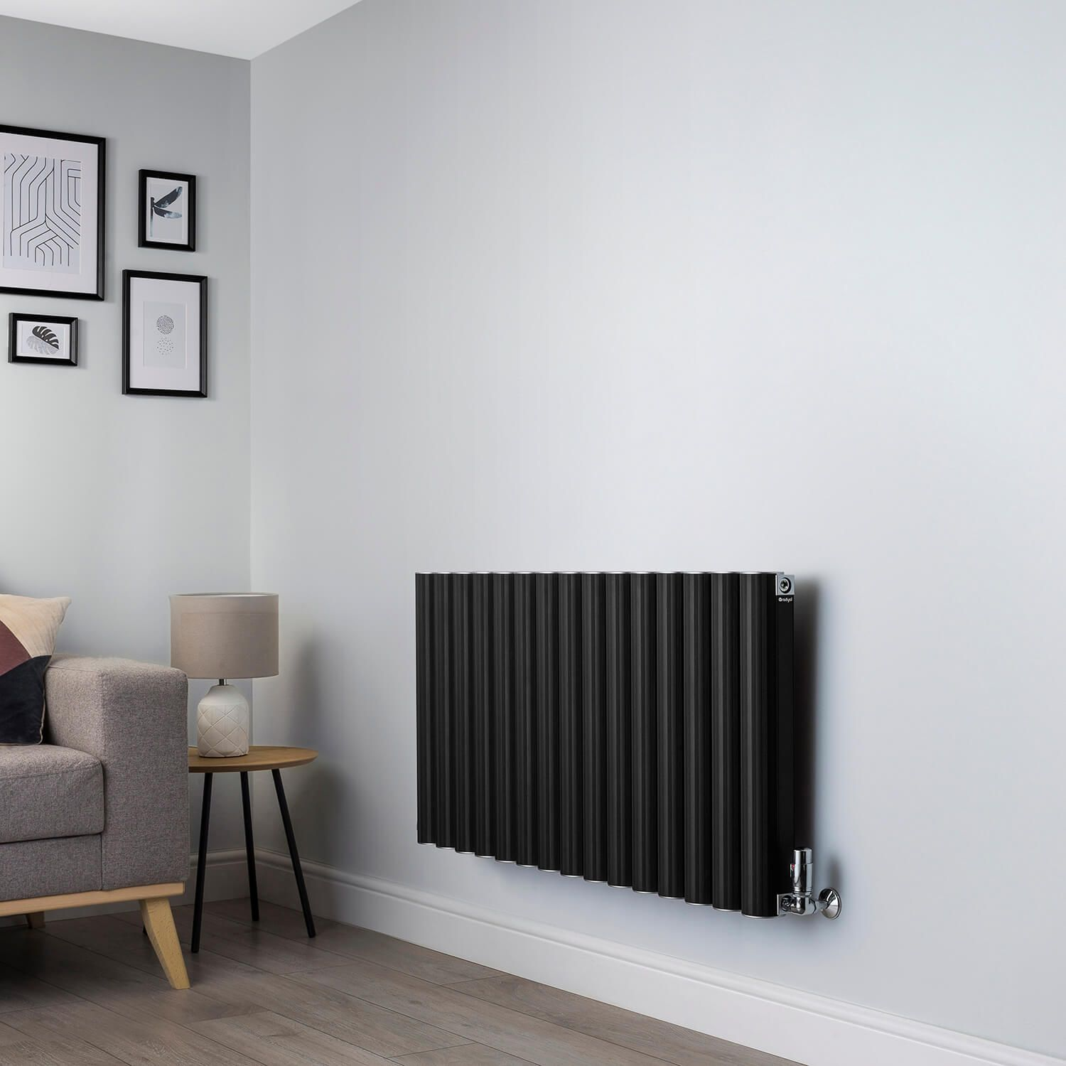 Venn Black Designer Radiator 600x1200 Www Geyser Co Uk