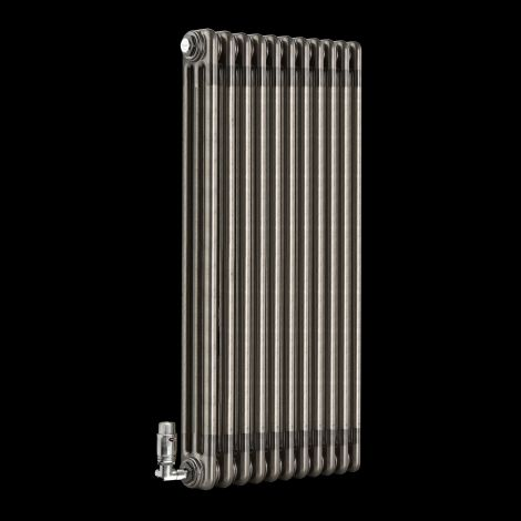 Old Style Raw Lacquered 3 Column Radiator 900mm high x 519mm wide