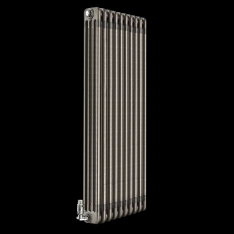 Old Style Raw Lacquered 4 Column Radiator 1200mm high x 474mm wide