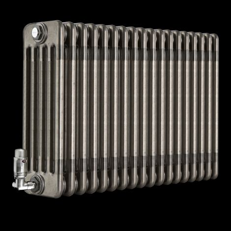 Old Style Raw Lacquered 5 Column Radiator 500mm high x 834mm wide