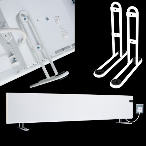 Adax Neo White Support Feet To Make Neo Freestanding - for 200mm high models