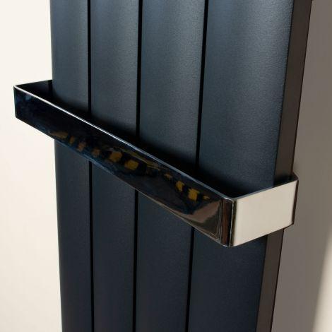 Aero Chrome Plated Towel Rail Attachment - For 375mm Wide Aero Radiators