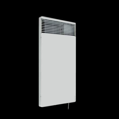 Atlantic F18 Thin White Electric Radiator - 670mm high x 370mm wide