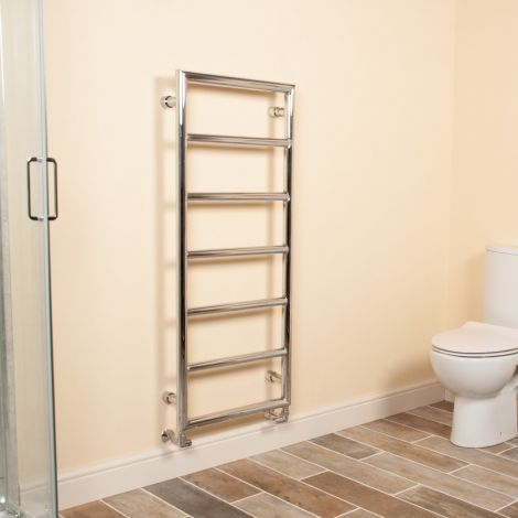 Aura Frame Style Designer Heated Towel Rail - 1600mm high x 500mm wide