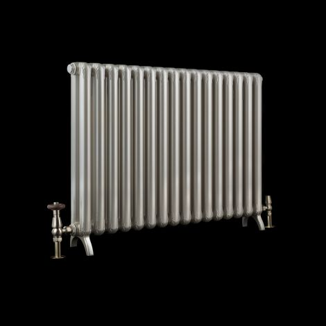 EX-DISPLAY Bisque Tetro Champagne Horizontal Designer Radiator - 639mm high x 800mm wide