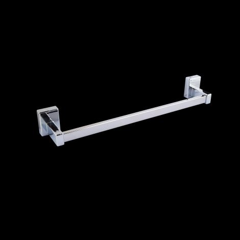 Chrome magnetic towel bar accessory 445mm wide