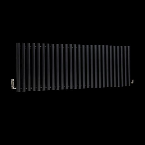 Circolo High BTU Black Designer Radiator 500mm high x 1470mm wide