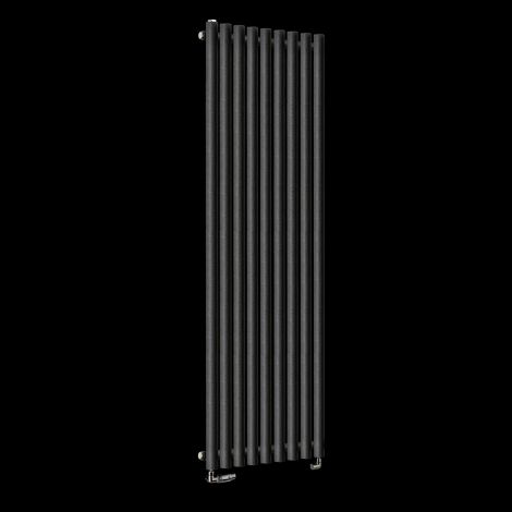 Circolo High BTU Black Pepper Designer Radiator 1800mm high x 480mm wide