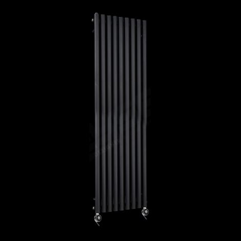 Circolo High Output Black Electric Radiator 1800mm high x 480mm wide