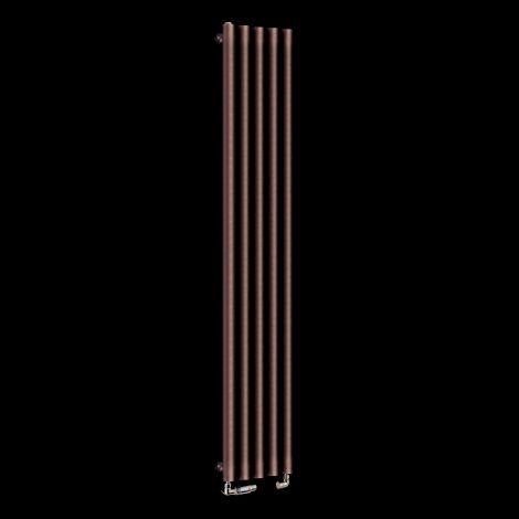 Circolo Tall Light Cream Designer Radiator 1800mm high x 260mm wide