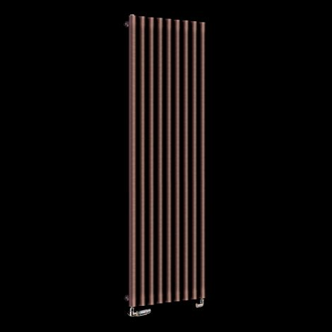 Circolo High BTU Chocolate Brown Designer Radiator 1800mm high x 480mm wide