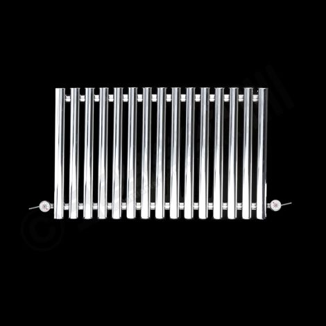 Circolo low level, chrome, mild steel radiator - 500mm x 865mm
