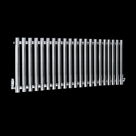 Circolo Chrome Designer Radiator 500mm high x 1195mm wide