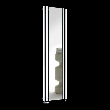 Circolo Brown Designer Mirror Radiator 1800mm high x 480mm wide