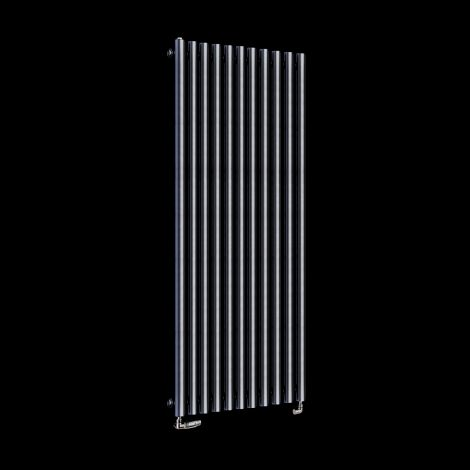 Circolo High BTU Dark Grey Designer Radiator 1800mm high x 590mm wide