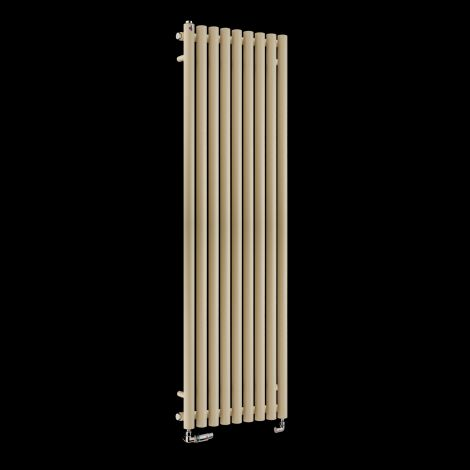 Circolo High BTU Light Cream Designer Radiator 1800mm high x 480mm wide