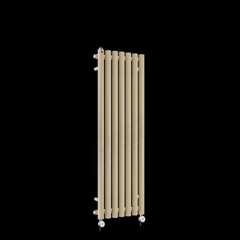 Circolo Thin Light Grey Electric Radiator 1200mm high x 370mm wide