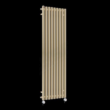 Circolo High Output Light Cream Electric Radiator 1800mm high x 480mm wide