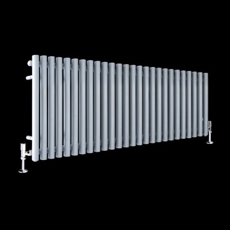 Circolo High BTU Light Grey Designer Radiator 500mm high x 1470mm wide