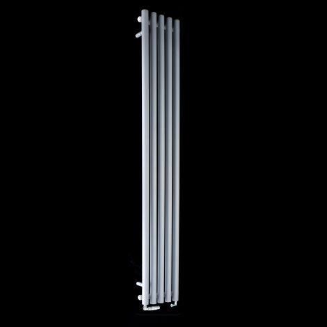 Circolo Tall Light Grey Designer Radiator 1800mm high x 260mm wide