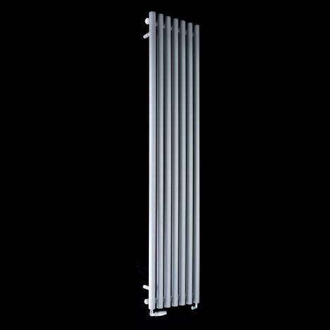 Circolo Tall Light Grey Designer Radiator 1800mm high x 370mm wide