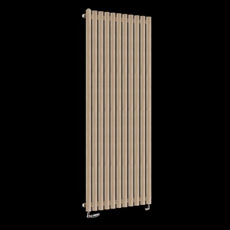 Circolo High BTU Sand Brown Designer Radiator 1800mm high x 590mm wide