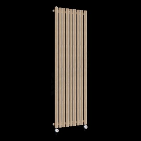 Circolo High Output Sand Brown Electric Radiator 1800mm high x 480mm wide