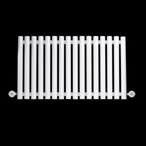 Circolo Horizontal Compact White Ecodesign Electric Radiator 500mm high x 865mm wide