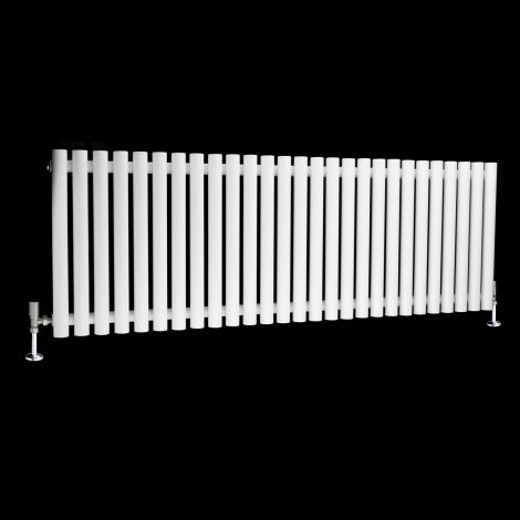 Circolo High BTU White Designer Radiator 500mm high x 1470mm wide