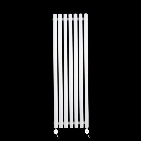 Circolo Thin White Ecodesign Electric Radiator 1200mm high x 370mm wide