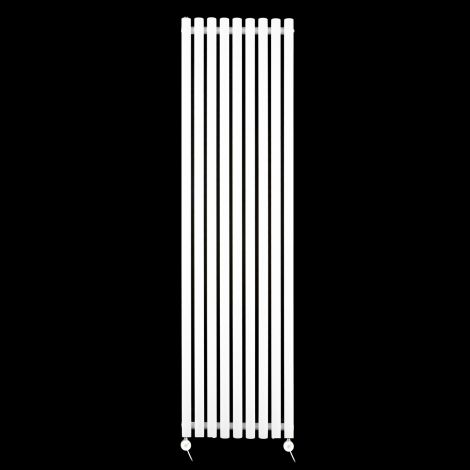 Circolo Tall White Ecodesign Electric Radiator 1800mm high x 480mm wide