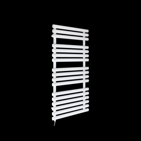 Cirtowelo White Electric Towel Rail 1085mm high x 520mm wide