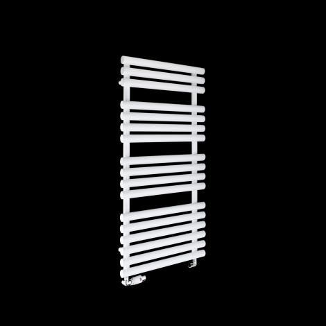 Cirtowelo White Heated Towel Rail 1085mm high x 520mm wide