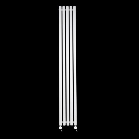 Circolo Ultra Thin White Ecodesign Electric Radiator 1800mm high x 260mm wide