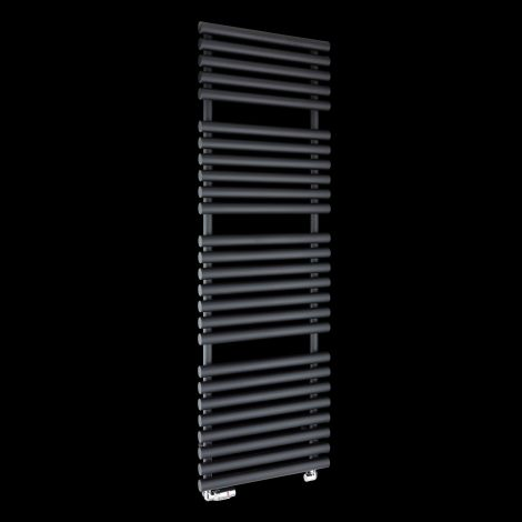 Cirtowelo Dark Grey Tall Large Heated Towel Rail 1580mm high x 520mm wide