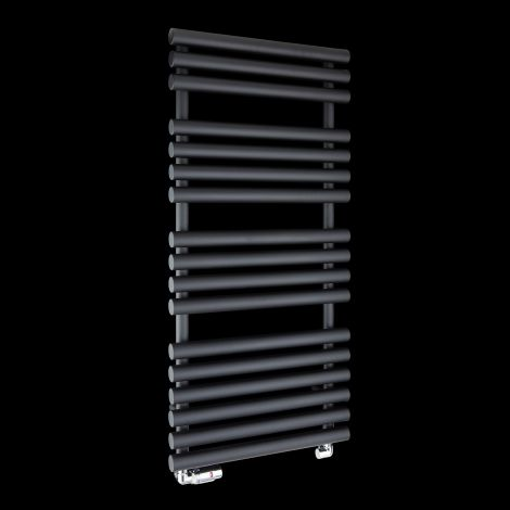 Cirtowelo Black Heated Towel Rail 1085mm high x 520mm wide