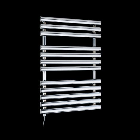 Cirtowelo Chrome Compact Electric Towel Rail 755mm high x 520mm wide