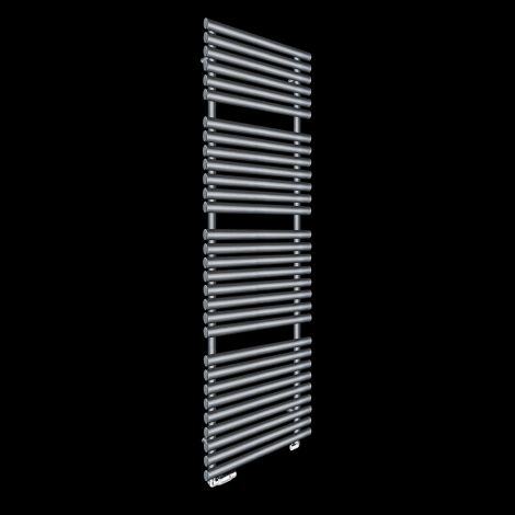 Cirtowelo Dark Grey Tall Large Heated Towel Rail 1800mm high x 520mm wide