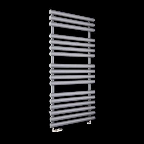 Cirtowelo Light Grey Heated Towel Rail 1085mm high x 520mm wide