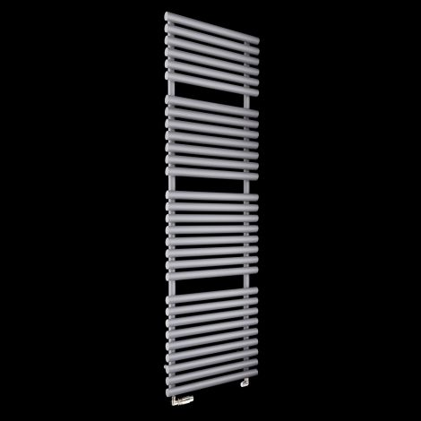 Cirtowelo Light Grey Tall Large Heated Towel Rail 1800mm high x 520mm wide