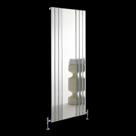 Empoli Chrome Tall Designer Mirror Radiator 1800mm high x 750mm wide