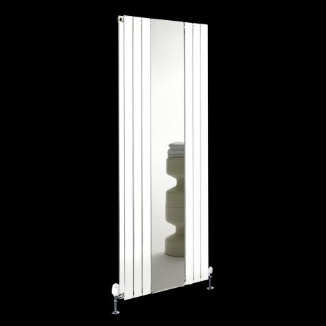 Empoli White Tall Designer Mirror Radiator 1800mm high x 759mm wide