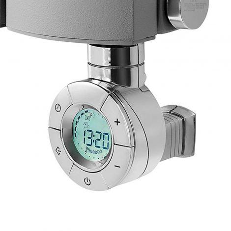 Geyser DYNAMIC Eco Design Chrome Thermostatic Heating Element for Radiators