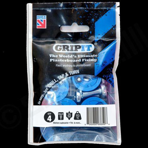 Gripit heavy duty plasterboard fixing 113kg