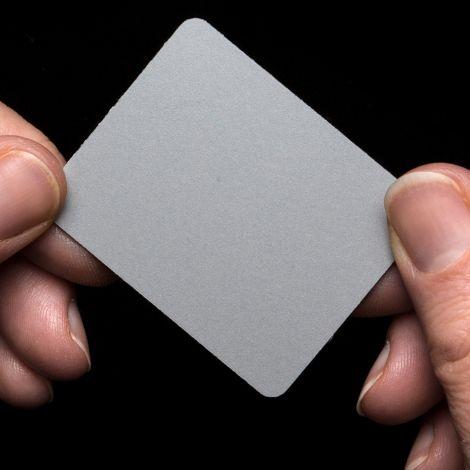 Light Grey Colour Sample for Empoli Mirror Radiator