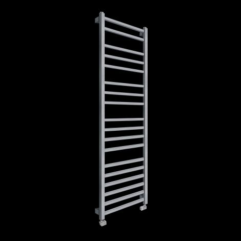 Lineo Dark Grey Tall Heated Towel Rail 1700mm high x 500mm wide