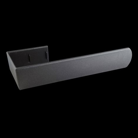 Muro Anthracite Towel Rail Attachment - 445mm wide for vertical Muro radiators