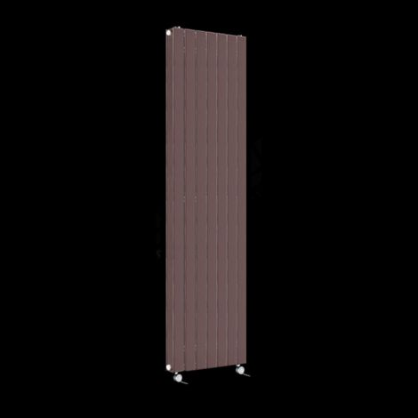 Muro Chocolate Brown High Output Double Panel Electric Radiator 1800mm high x 520mm wide