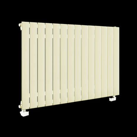 Muro Cream Single Panel Radiator 600mm high x 1045mm wide